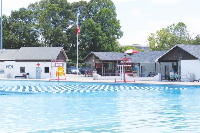 The shell of the outdoor swimming pool is reportedly deteriorating. The Oak Ridge Parks Advisory Board will discuss the pool's fate Thursday night.