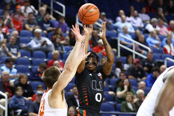 The last time we saw the Miami basketball team was during the ACC Basketball Tournament at Greensboro Coliseum - right before COVID-19 shut down that tournament and the rest of college basketball.