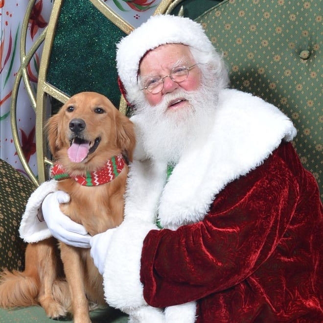 Santa Claus will make his first appearance of the holiday season Saturday at The Gardens Mall. Guests are asked to abide by social distance protocols and wear masks.