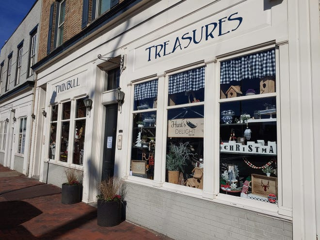 Twin Bull Treasures located at 39BollingbrookStreet in the historic ARK building in Old Towne Petersburg opens in November of 2020.