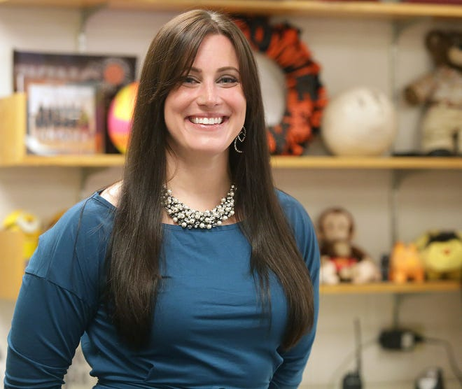 Carla Carper, a fourth-grade English Language Arts and Social Studies teacher at Orchard Hill Intermediate School in North Canton, is a Walsh University Teacher of the Month for November 2020.