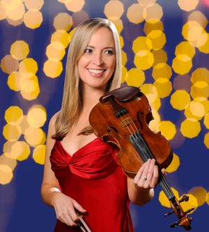 "Assistant Concertmaster Jennifer Best Takeda is featured in the ""Heartstrings"" concert program presented by the Sarasota Orchestra."