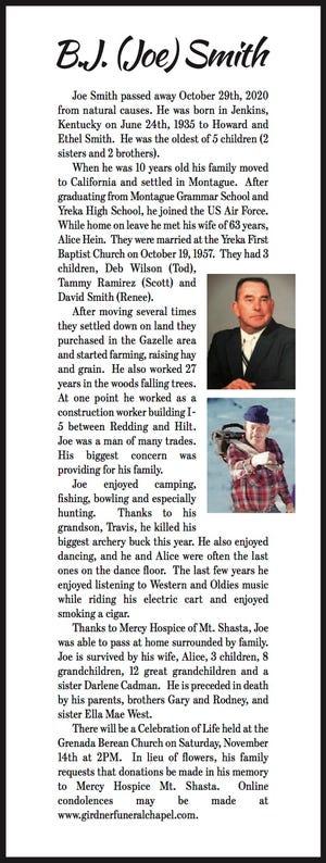 Obituary: Joe Smith