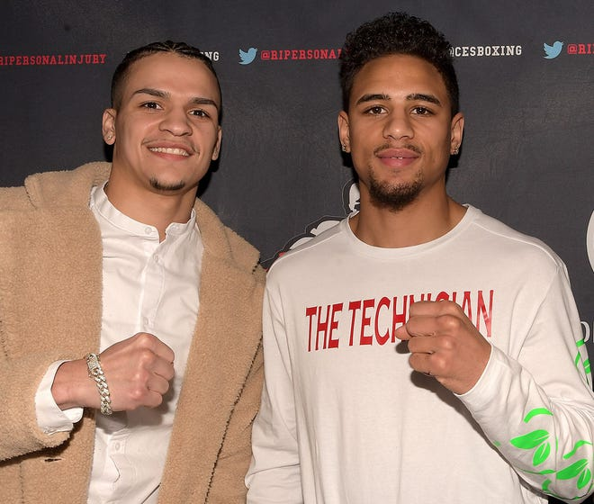 Irvin Gonzalez, left, and Jamaine Ortiz are scheduled to box on the Mike Tyson-Roy Jones Jr. undercard on Nov. 28.