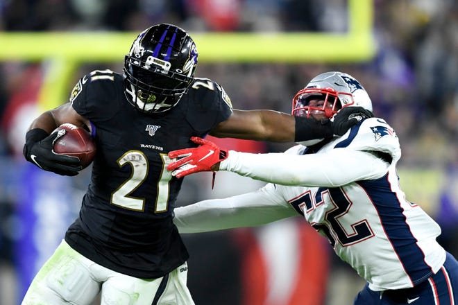 The Patriots gave up a season-high 210 rushing yards in a loss to the Ravens last season in Baltimore.