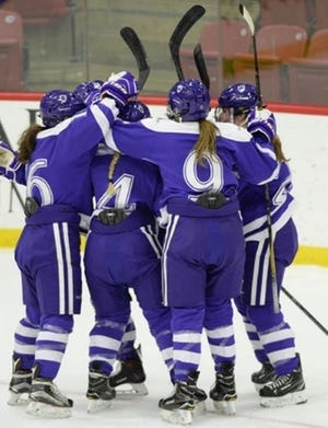 The Holy Cross women's hockey team is scheduled to open its season Nov. 20 against Maine at the Hart Center.