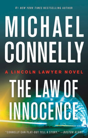 """The Law of Innocence"" by Michael Connelly."