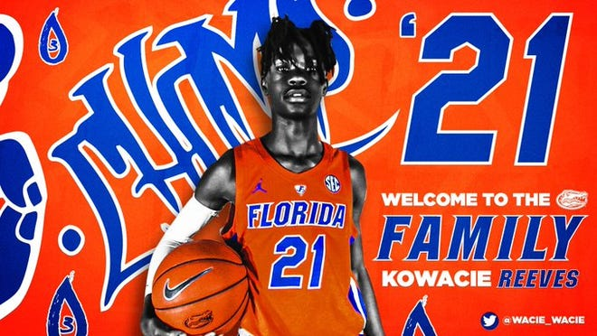 Kowacie Reeves signed his National Letter of Intent with Florida