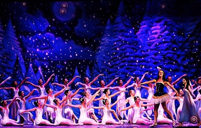 "Pictured is a scene from the Downtown Dance Conservatory's annual production of ""The Nutcracker Princess."""