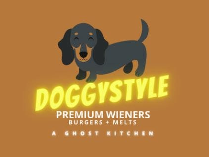Doggystyle operates as a ghost kitchen in Burlington, with takeout and delivery service online and through Uber Eats, DoorDash and GrubHub.