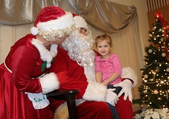 The Christmas with a Cop program helps brighten the holidays for many families.