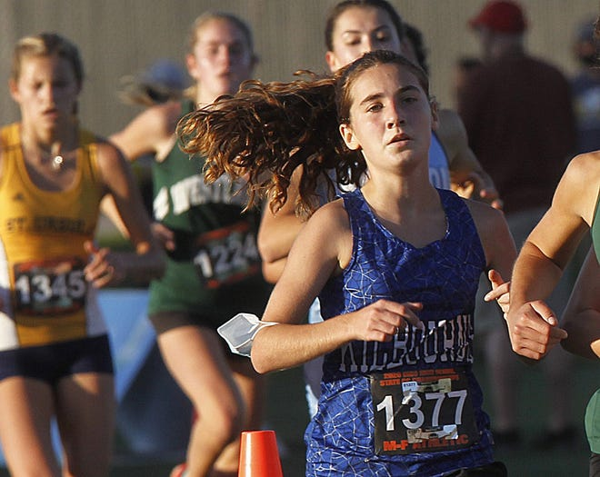 Kilbourne sophomore Toby Bomser placed 46th in the Division I state cross country meet Nov. 7 at Fortress Obetz. She finished 93rd in the race as a freshman.