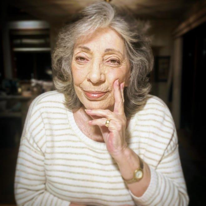 Wellfleet resident Lillian DeCroce