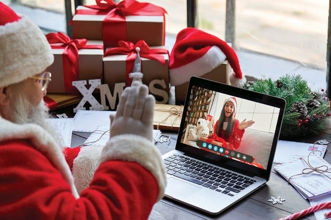 Santa has to get creative this year.