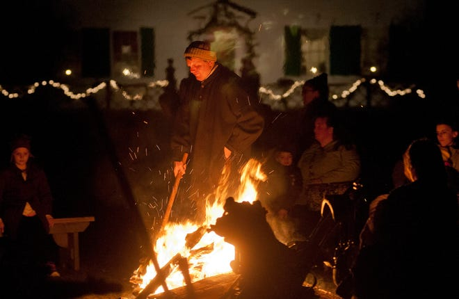 Purchase your tickets in advance for Christmas by Candlelight at Old Sturbridge Village as space will be limited.