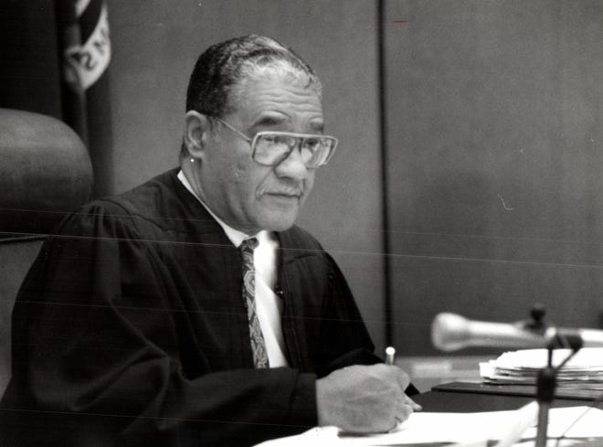Recorders Court Judge Dalton A. Roberson. Judge Roberson died on Nov. 10, 2020. He was 83 and had recently been diagnosed with COVID-19.