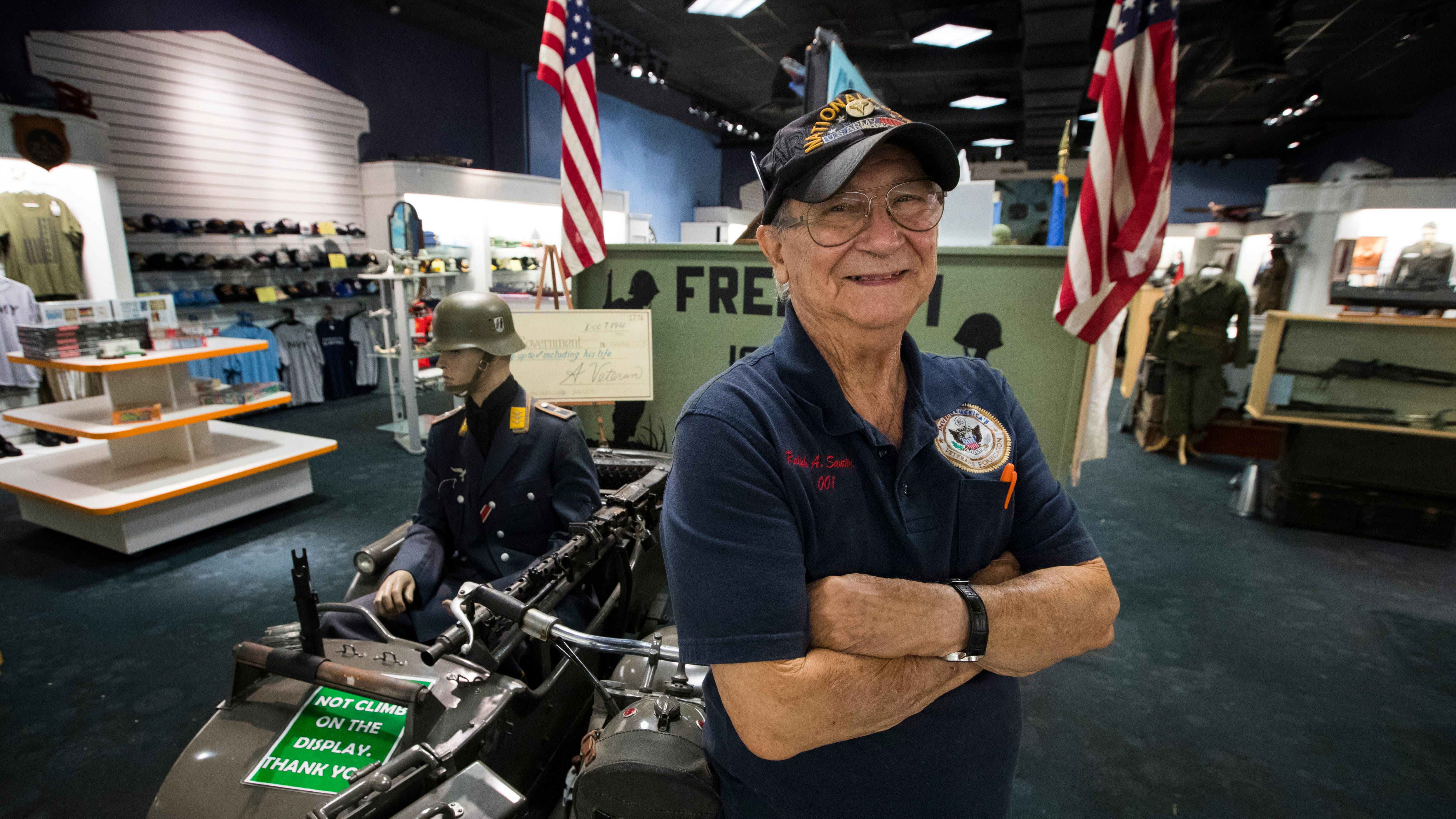 Ralph Santillo, founder and CEO of the Southwest Florida Military Museum is close to completing the relocation process for the museum as it has found a new home at the former Disney store at Edison Mall.