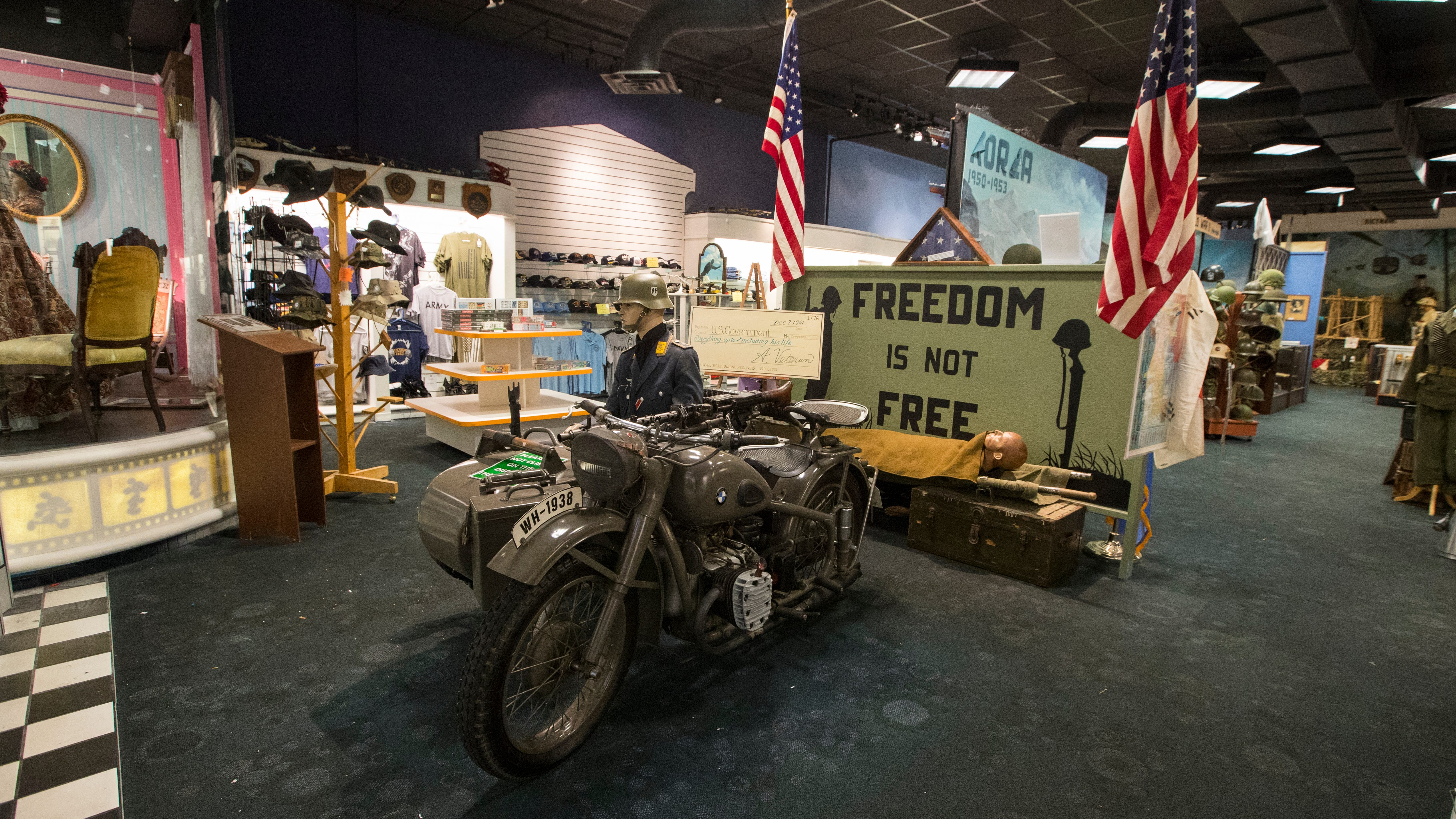 The Southwest Florida Military Museum has found a new home and will be opening soon at the former Disney store at Edison Mall.