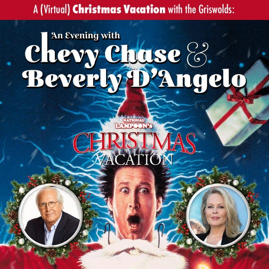 A virtual Christmas Vacation with the Griswolds