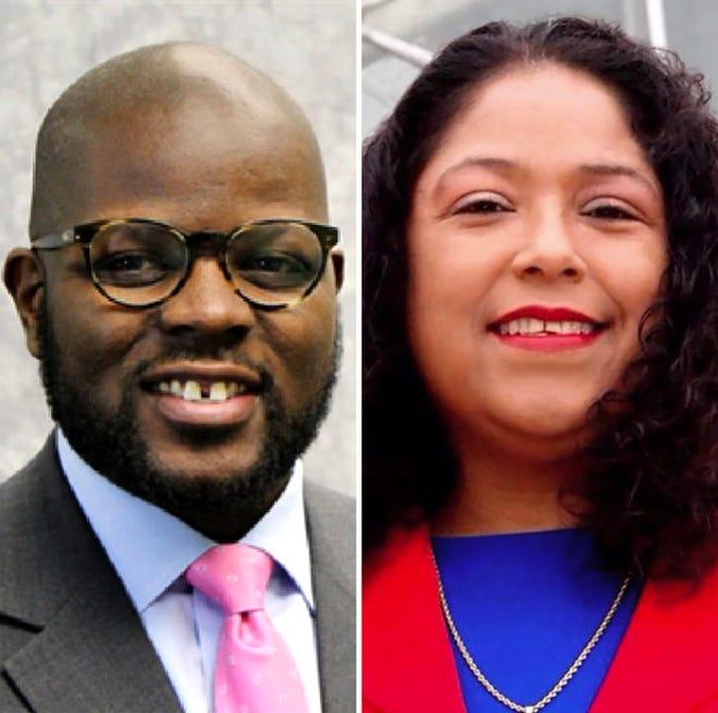 Supreme Moore Omokunde and Sylvia Ortiz-Velez