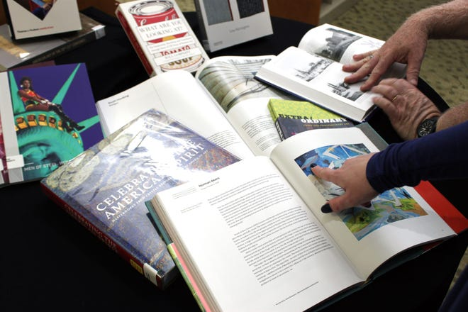 A multitude of fine art books are now available for check out at the Baxter County Library.