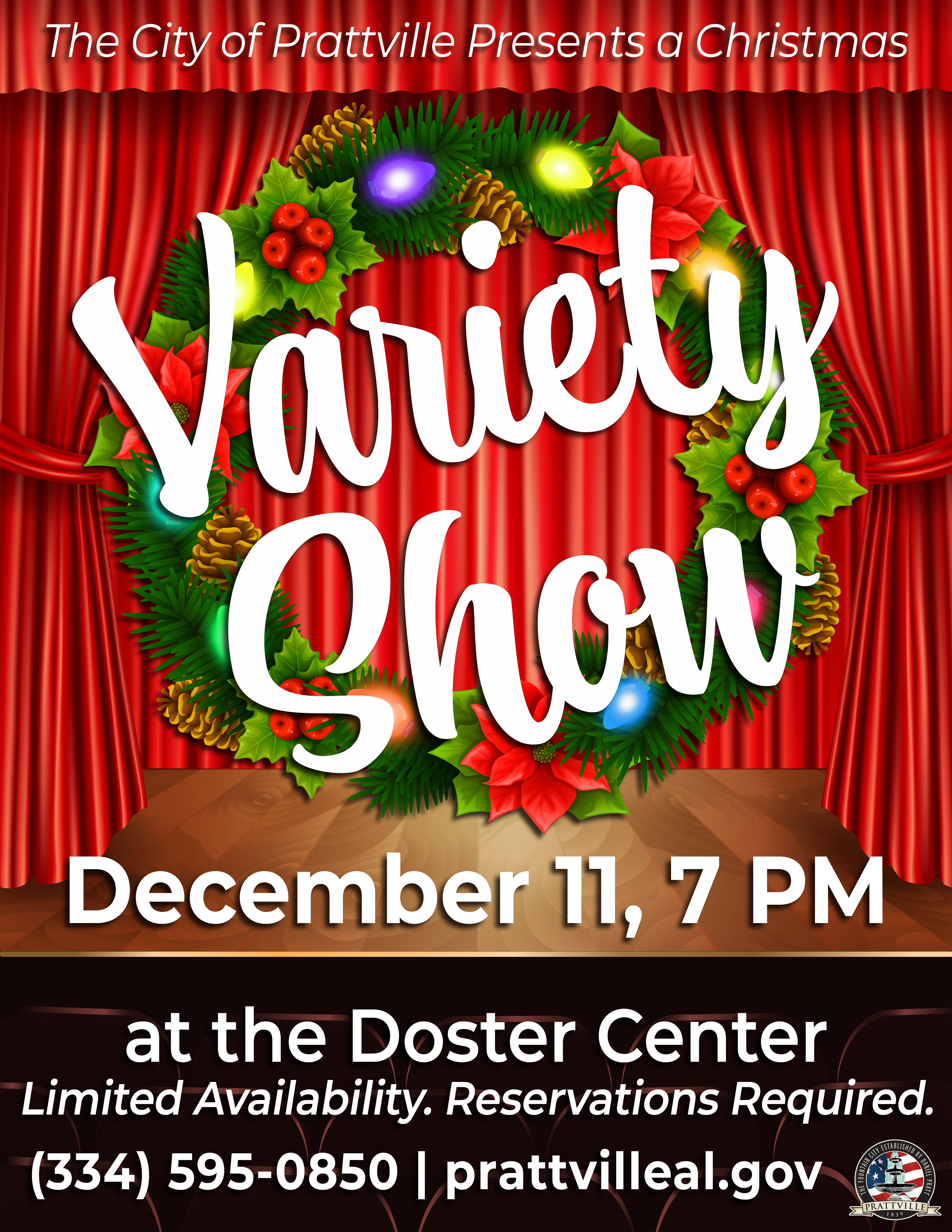 Prattville Christmas 2020 Local talents to star in Prattville's Christmas Variety Show on