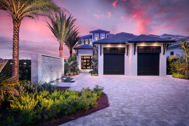 Seagate Development Group's two-story, 4,414 square feet under air Monterey model in Isola Bella at Talis Park is now under contract.
