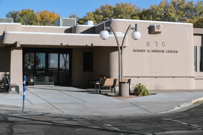 The Munson Senior Center is pictured in Las Cruces on Wednesday, Nov. 11, 2020.