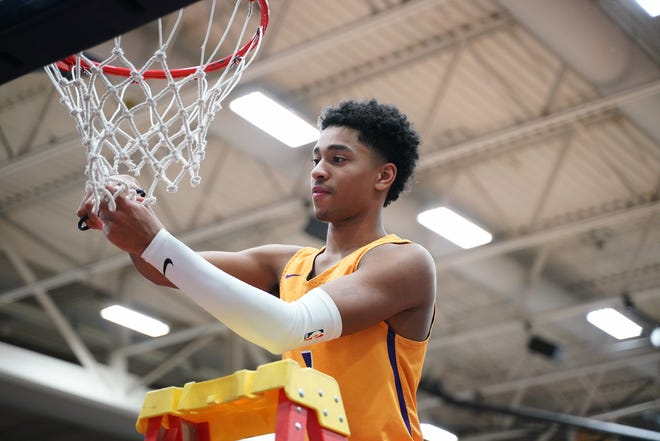 Grand Canyon got a major recruiting coup by signing top Indiana high school guard Jalen Blackmon of Marion. Photo courtesy of GCU Athletics