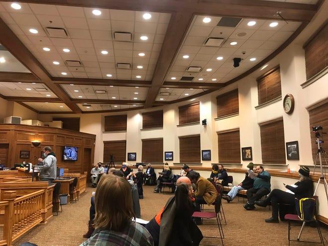 Sioux Falls City Council Tuesday, Nov. 10, 2020.