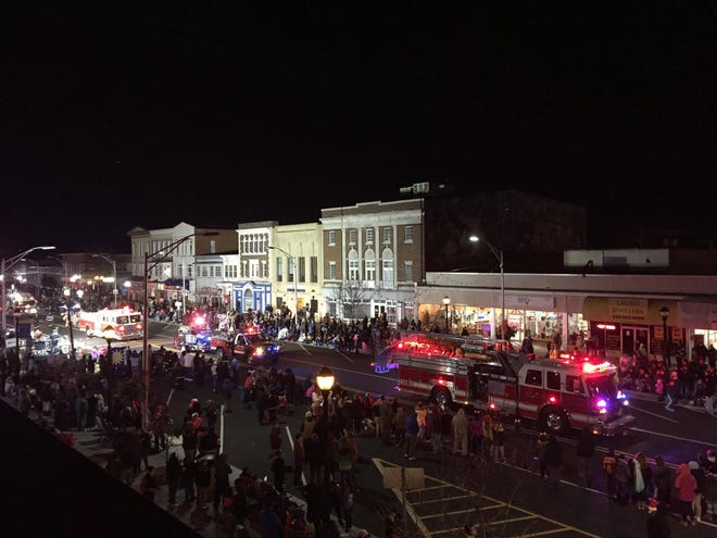 The annual Main Street Vineland Christmas Parade will proceed along Landis Avenue through the downtown toward Myrtle Street beginning at 5 p.m. Nov. 28.