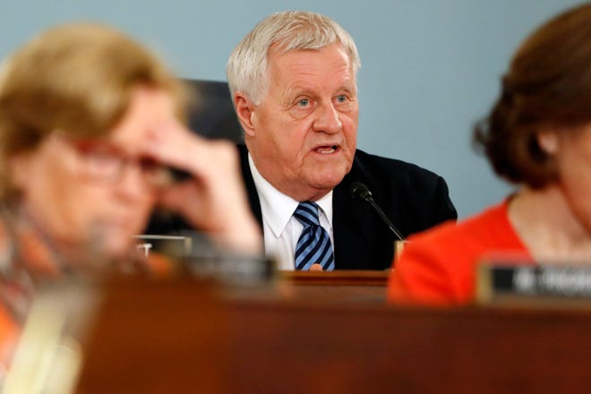 House Agriculture Committee Chairman Rep. Collin Peterson, D-Minn., asks a question on Capitol Hill in Washington. The reelection defeat of Peterson in Minnesota and some key retirements mean a shakeup is coming for the industry on Capitol Hill, with power likely to shift from the Midwest to the South and the coasts. Both the House and Senate agriculture committees will get new chairs, and there will be a new top Republican on the House panel.