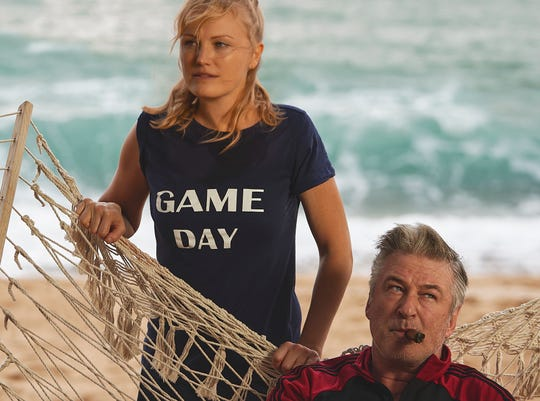 """Anna (Malin Akerman) joins an all-female fight club and gets lessons  from an eccentric coach (Alec Baldwin) in """"Chick Fight."""""""