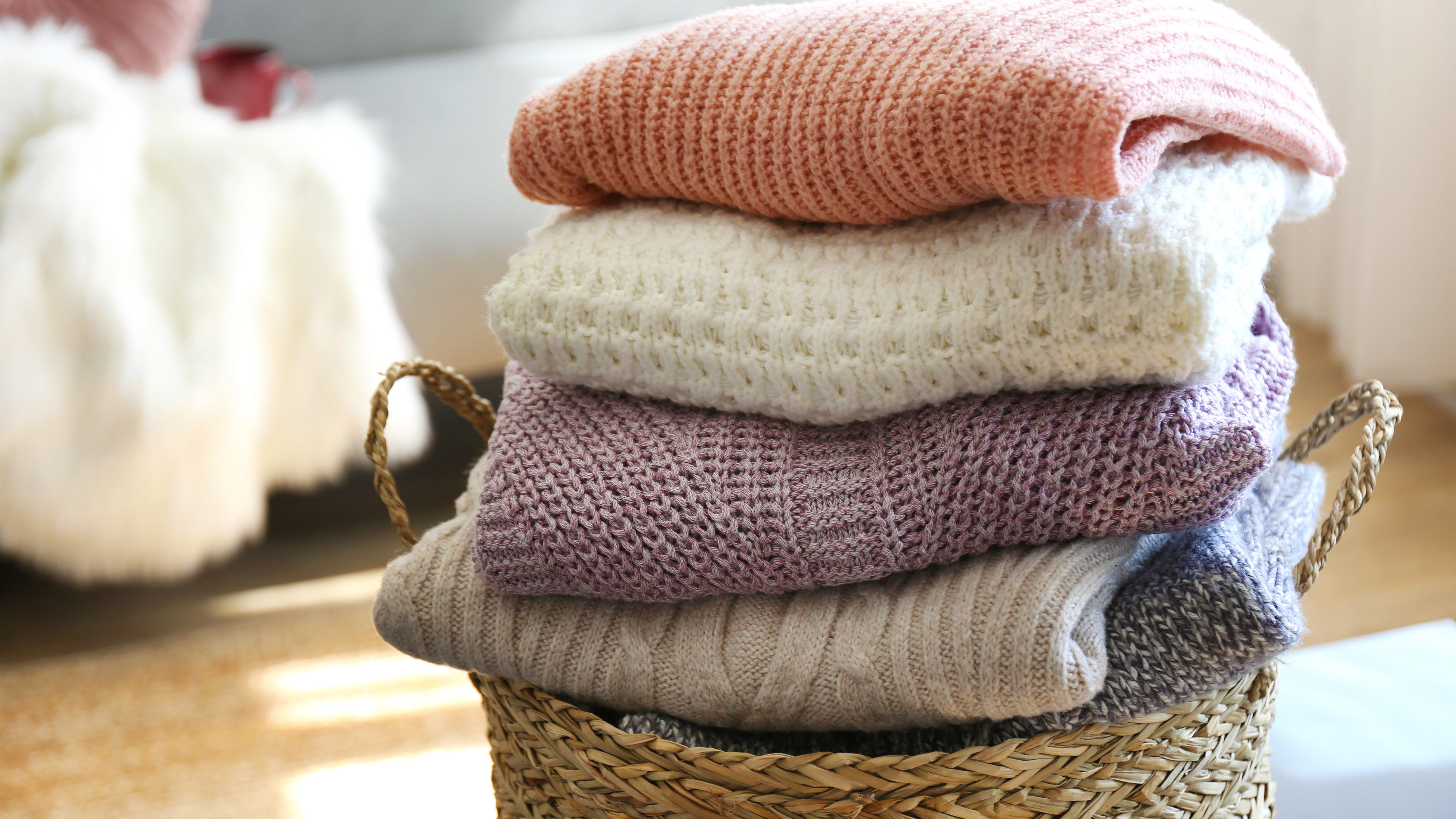 Cozy sweaters and throw blankets are up to 50% off at Anthropologie—but only for today