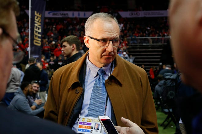 """SEC commissioner Greg Sankey  is """"troubled"""" by the COVID-19 impact on college football, particularly his league."""