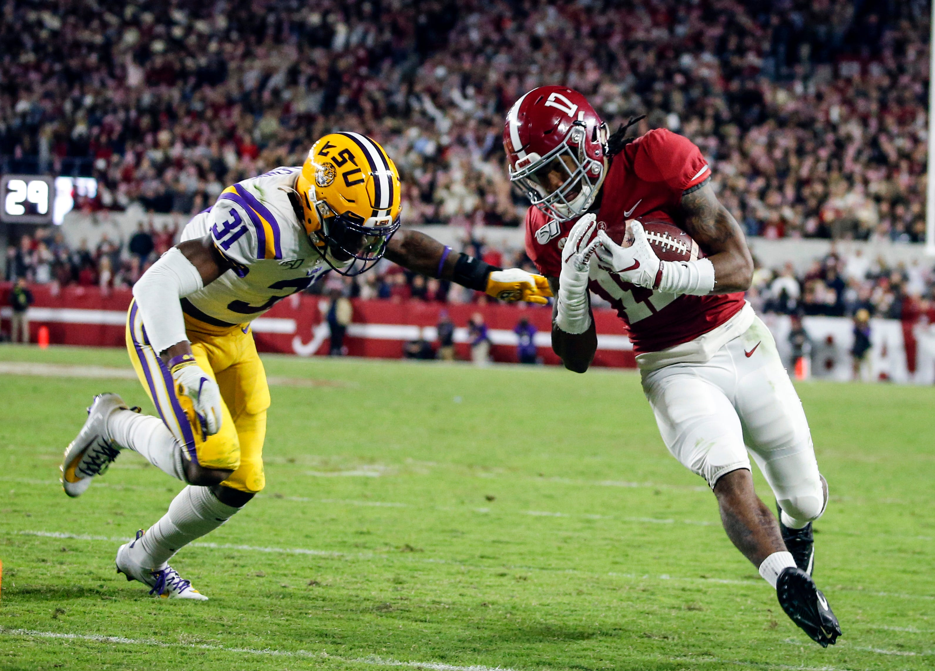 SEC commissioner confirms that other games may be moved to find a date for LSU and Alabama