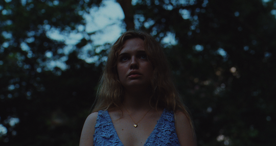 """Odessa Young stars as a high school graduate faced with the return of her missing boyfriend and a series of murders in her small town in """"The Giant."""""""