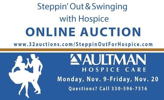 Hospice online auction logo