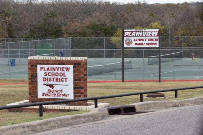 The Plainview Public Schools campus on Thursday, Nov. 12, 2020. The district is among at least three in Carter County that have transitioned to distance learning due to COVID-19. Schools in Healdton and Ardmore have also been affected this week.