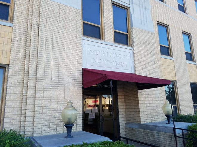 Ardmore City Hall in August 2019. The Ardmore City Commission on Thursday will consider a resolution to require face coverings while in public buildings in an effort to slow the spread of COVID-19.