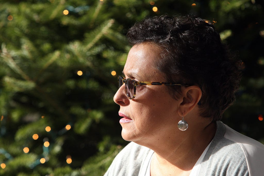 Paula Peters is a journalist, educator, activist and member of the Mashpee Wampanoag tribe.