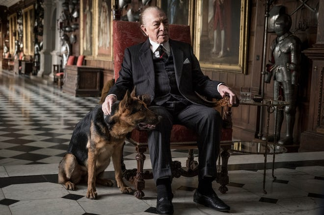 "Christopher Plummer in his Oscar-nominated role as J. Paul Getty in 2017's ""All the Money in the World."""