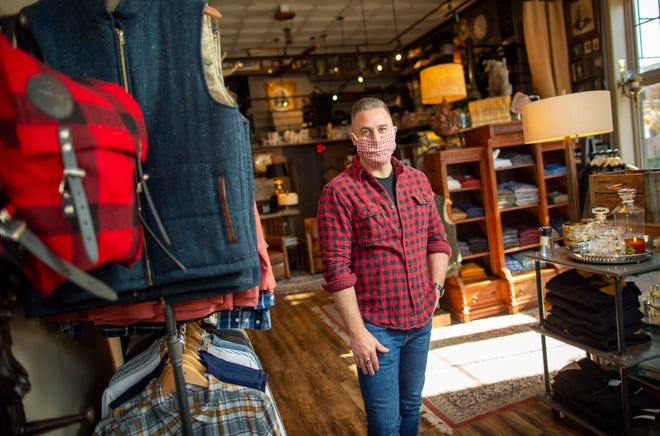 Samson Men's Emporium owner Travis Samson said High Street construction a few years ago helped prepare him for the pandemic but worries about what another shutdown would do to his Short North business during the holiday shopping season.