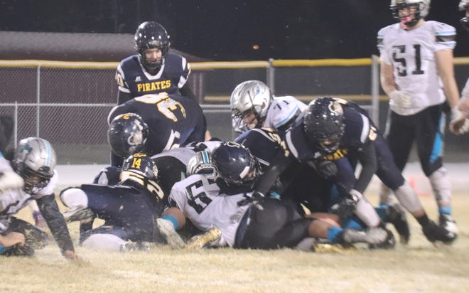 Crookston battled hard against the No. 2 team in Class A, Mahnomen-Waubun, but ultimately fell short 34-12 in its final regular season game.