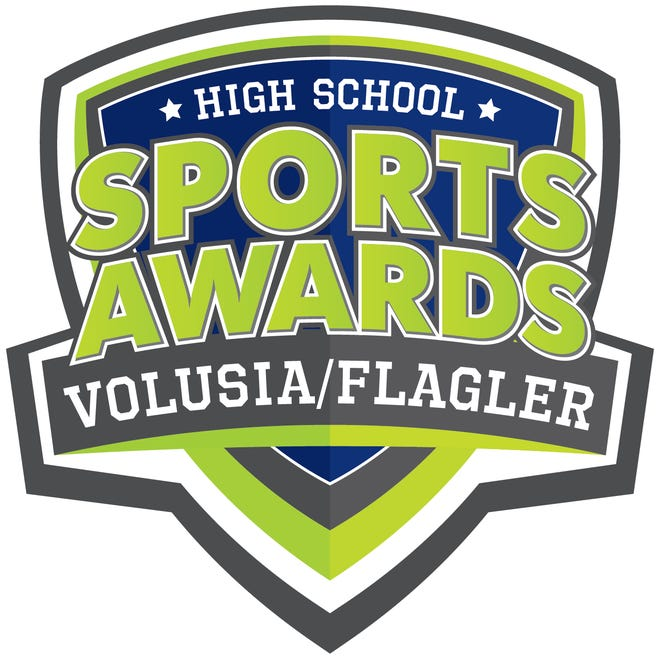 This is the logo for the Volusia-Flagler High School Sports Awards, presented by The Daytona Beach News-Journal and the USA Today Network.