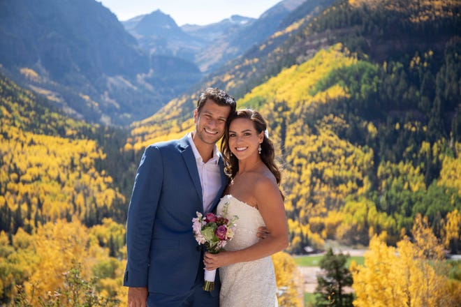 Costas and LIndsey Sivyllis eloped to Colorado. They were married on Oct. 1 and died in a plane crash four days later.