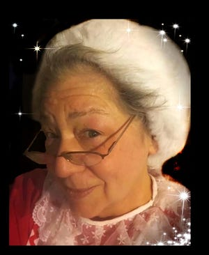 Mama Claus portrayed by Pat Curtis