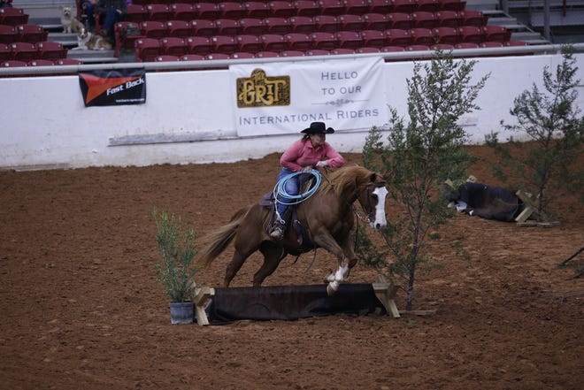 The 2020 Extreme Cowboy Association World Championships were held at the Somervell County Expo Center in Glen Rose last week. Riders came from all over to compete in the annual event.