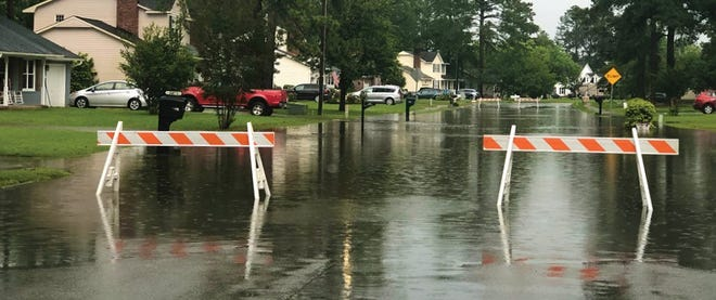 City and County officials have urged drivers to be caution on the road ways due to Tropical Storm Eta on Thursday