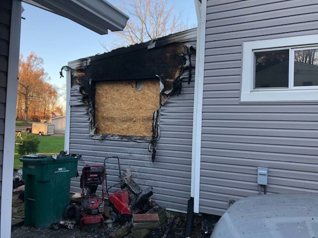 An early morning house fire at a home on Rosewood Avenue caused extensive damage.